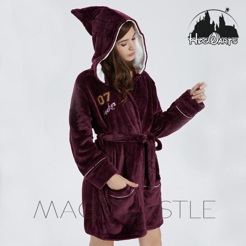 Harry Potter Poudlard, L'école Pyjamas Chaud Noir Magique Robe Cape Quidditch chemise de Nuit Pyjamas Halloween Cosplay Costume Unisexe