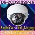 Verison inglês Multi-Idioma DS-2CD2132F-IS H.265 IP 3MP câmera web cúpula HD 1080 P POE Substituir ds-2cd2135f-is ds-2cd2135-i
