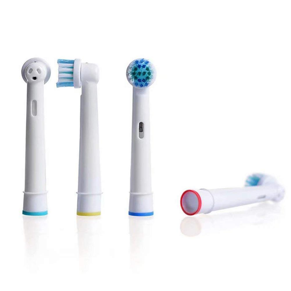 4Pcs/lot Electric Replacement Toothbrush Heads Compatible Oral B EB 17 SB-17A Hygiene Care Clean Electric Tooth Brush Models image