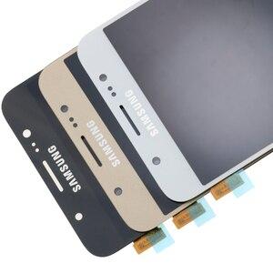 Image 2 - מקורי 5.5 סופר Amoled LCD עבור סמסונג גלקסי J7 2016 J710 J710F J710M J710G LCD תצוגת מסך מגע Digitizer החלפה
