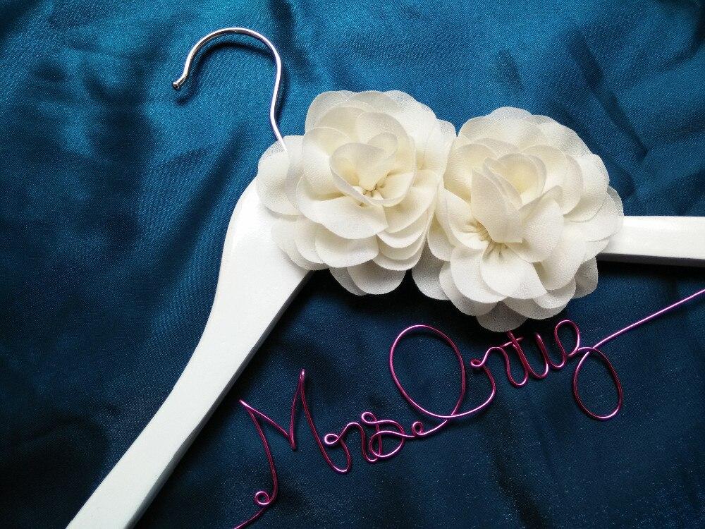 Акция Серебряная Свадебная Вешалка на заказ Свадебная Вешалка/свадебное платье Персонализированная вешалка/уникальная вешалка для подружки невесты