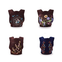 New Quality Comfortable 4 Designs Styles Mei Tai Baby Carrier Fashion Pattern Sling Ergonomic For 0