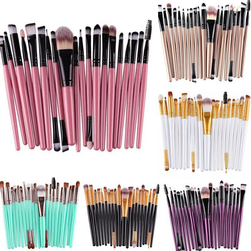 20 Pcs Makeup Brushe...