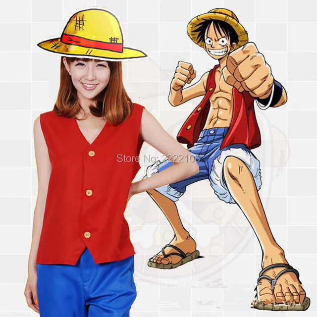 2018 Anime Monkey D Luffy Cosplay One Piece Cosplay Costumes Monkey