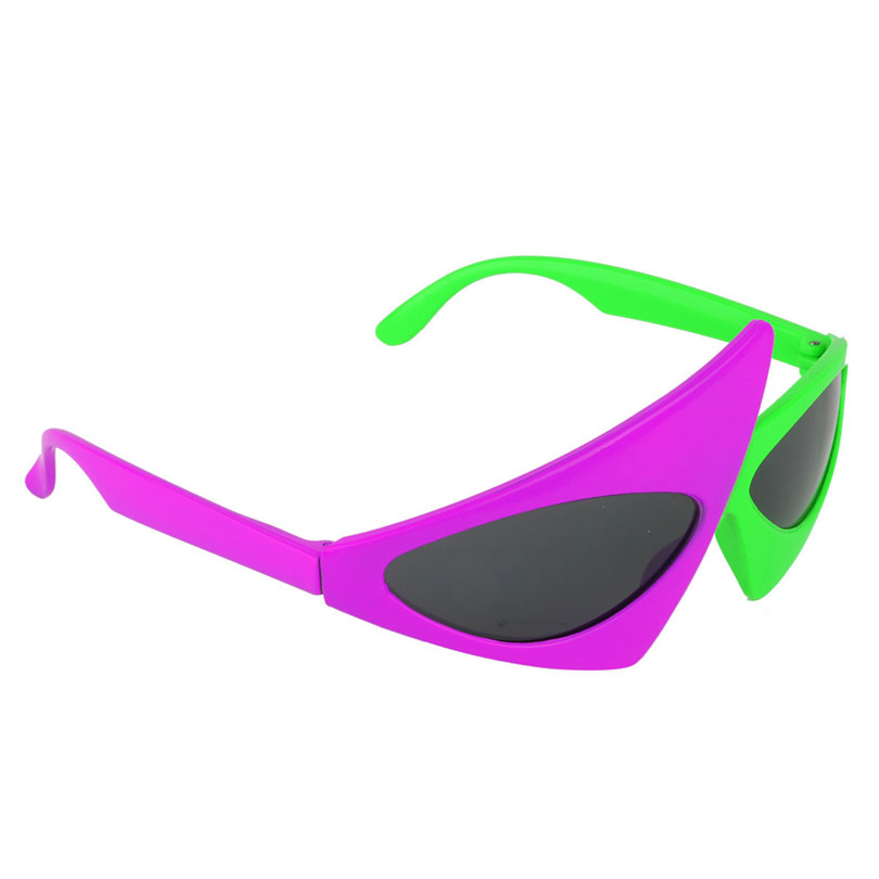 80/'s Totally Stylin/' Eyewear Sunglasses Halloween Costume Accessory 2 COLORS