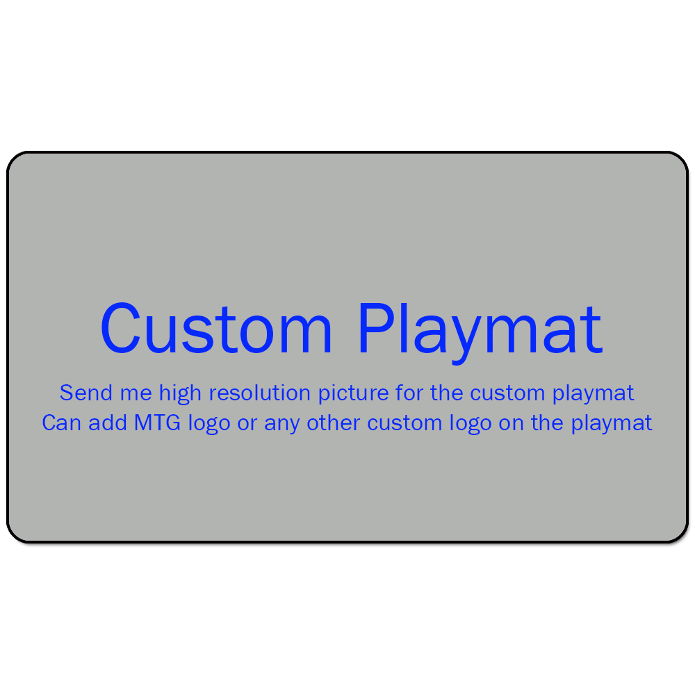 Custom Playmat Play Mat For Board Game: 60*35cm / 66*66xm / 91*91cm / Other Custom Size