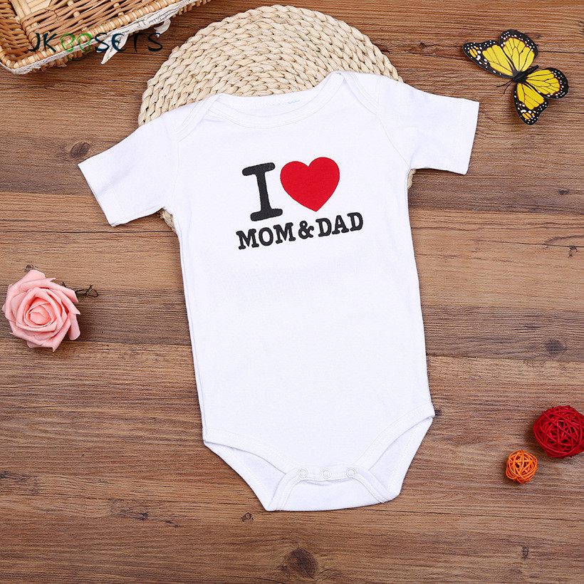 Baby Romper 2017 Summer New Fashion Cotton Printing Covered Button Siamese Clothes Baby Boy Clothes Baby Girl Clothes