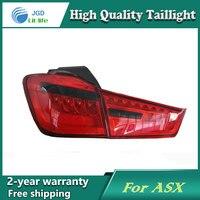 Car LED Tail Light Parking Brake Rear Bumper Reflector Lamp For Mitsubishi ASX 2013 Red Fog