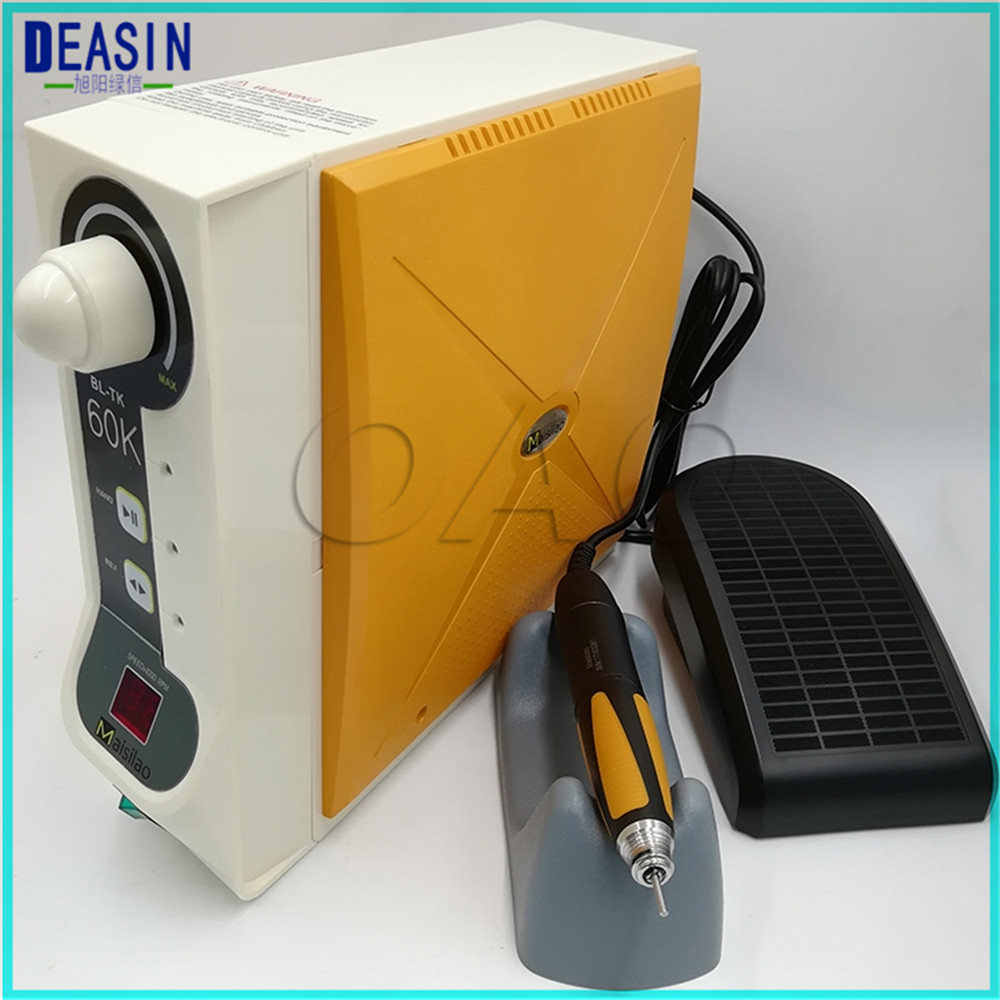 Large torque Dental Micro motor Brushless Jewelry engraving with Handpiece BLTK 60K 60,000 RPM micromotor maisilao for stone