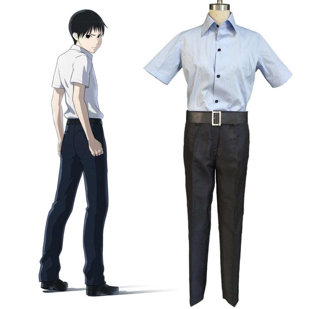 wearing school uniforms
