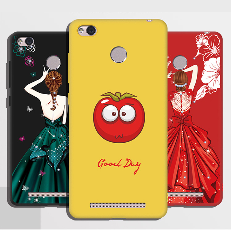 BiNFUL For Xiaomi Redmi 3s Case Soft Silicone Cases For xiaomi redmi 3s Case 3 s Protective Cover Redmi 3s Phone Cover Bags