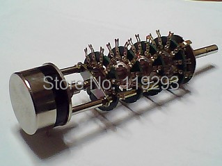 bella TOCOS band switch with potentiometer RV3YN102 font b knife b font 6 speed dual