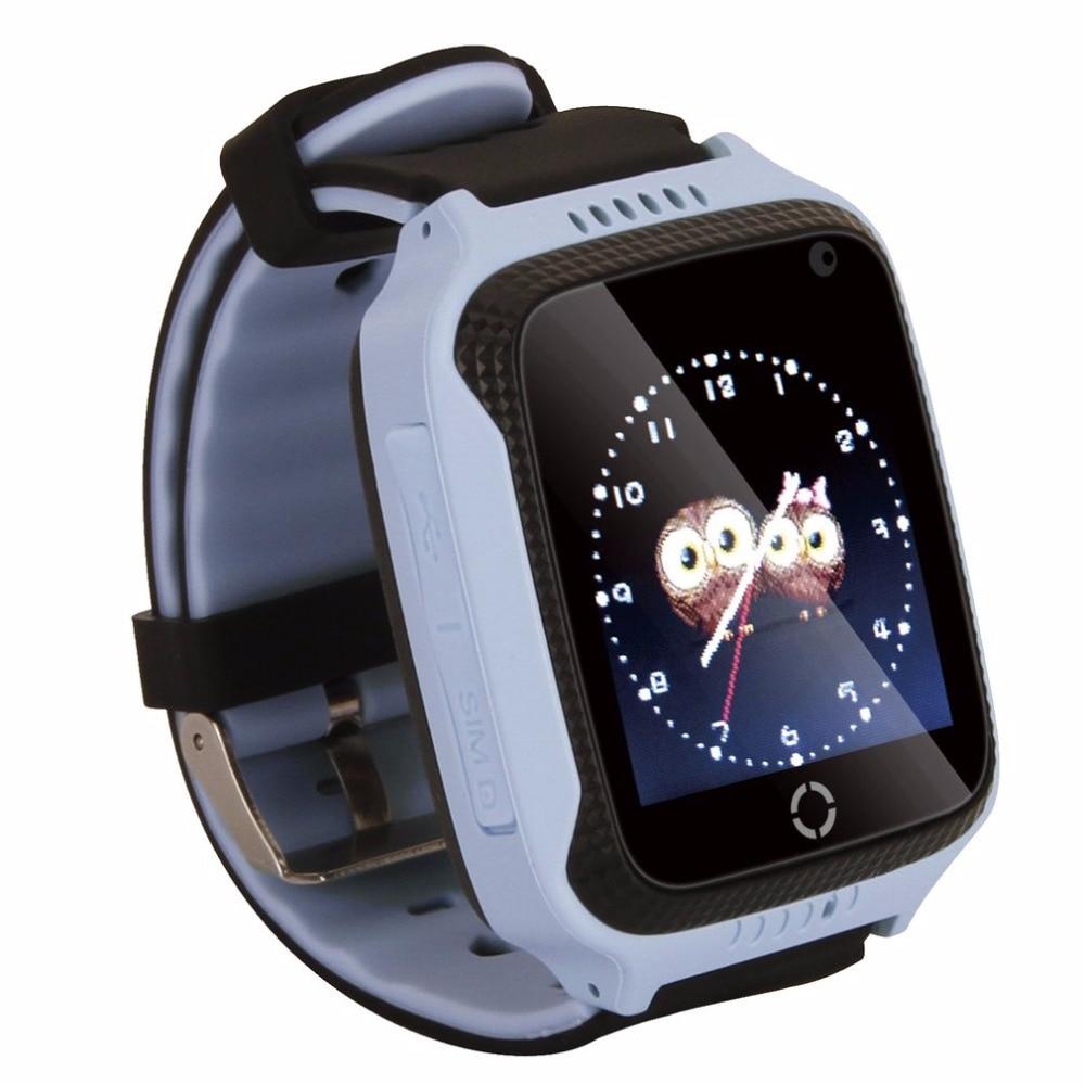 imágenes para M05 Inteligente Reloj para Niños Niños Reloj GPS para Apple para Android Teléfono Inteligente Reloj de Bebé Electrónica de Dos Colores Disponibles