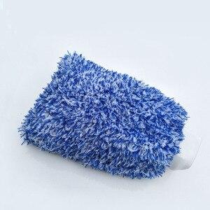 Image 3 - 1 sztuk rękawice do mycia samochodów z mikrofibry czyszczenie samochodu narzędzie szczotka do kół wielofunkcyjna pielęgnacja samochodu Detailing Brush 2019 nowych produktów