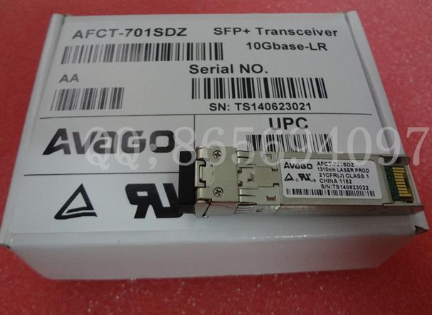 Free shipping! In stock 100%New and original   3 years warranty   10G  1310nm 10km  SFP+: AFCT-701SDZ free shipping xc3020 7pc84i new original and goods in stock