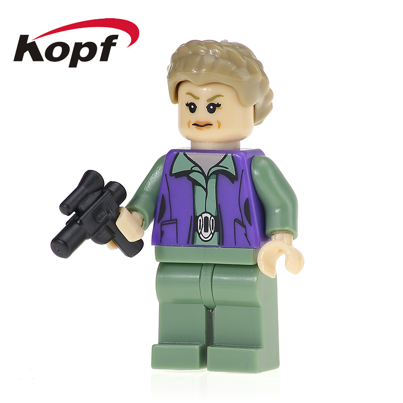 PG702 Super Heroes Star Wars Princess Leia Captain Tarpals Building Blocks Action Figures Toys For Children Collection DIY Gift