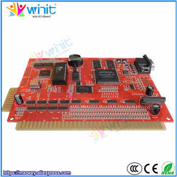 Marwey 9 in 1 game board red casino gambling PCB circuit game board multi games support VGA output for slot arcade game machine