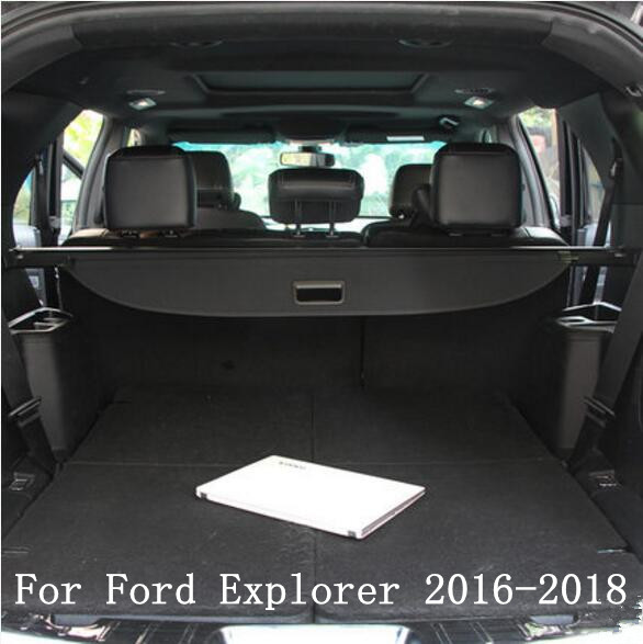 Incredible Us 69 99 30 Off Car Rear Trunk Security Shield Cargo Screen Shield Shade Cover For Ford Explorer 2016 2017 2018 2019 Black Beige In Rear Racks Dailytribune Chair Design For Home Dailytribuneorg