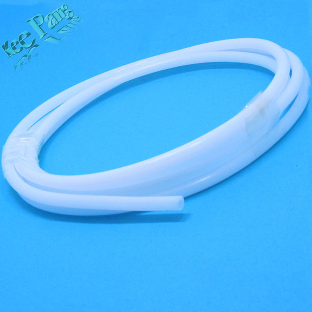1M PTFE Tube Teflon PiPe to J-head hotend Rostock Bowden Extruder for 1.75mm/3mm filament ID 2mm/4mm OD 4mm/6mm