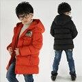 Crianças casaco de algodão para meninos jaqueta de Inverno thicking quente outwear jaqueta estilo exército meninos inverno outwear roupas para 7-15Y
