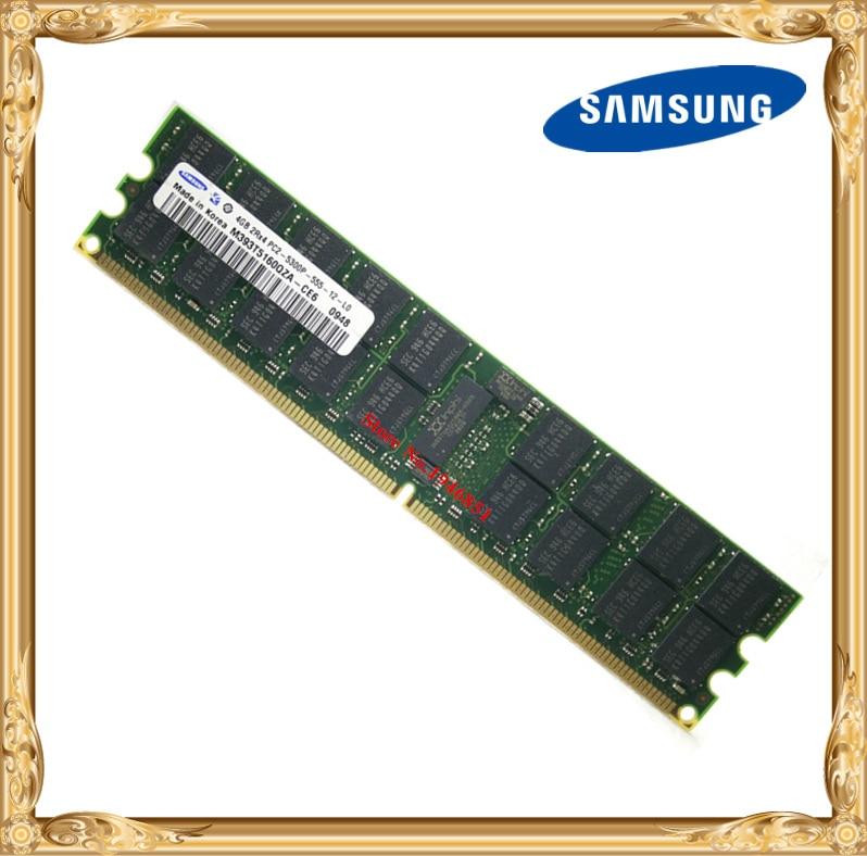 Samsung Server Memory Original 4GB DDR2 2Rx4 REG ECC RAM 667MHz PC2-5300P 667 4G