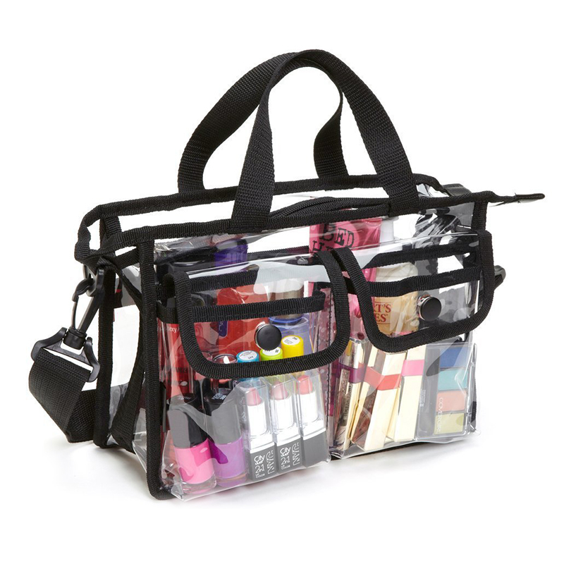 Transparent Bag PVC Waterproof Large Cosmetic Bag Women Travel Organizer Beauty Products Toiletry Makeup Bag