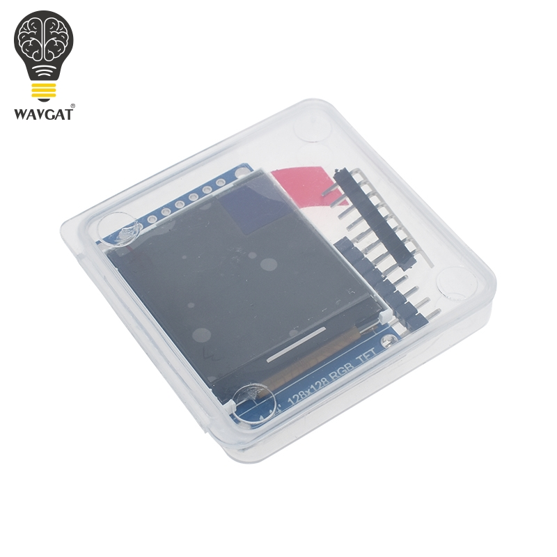 Image 5 - 3.3V 1.44 1.8 inch Serial 128*128 128*160 65K SPI Full Color TFT IPS LCD Display Module Board Replace OLED ST7735-in LCD Modules from Electronic Components & Supplies