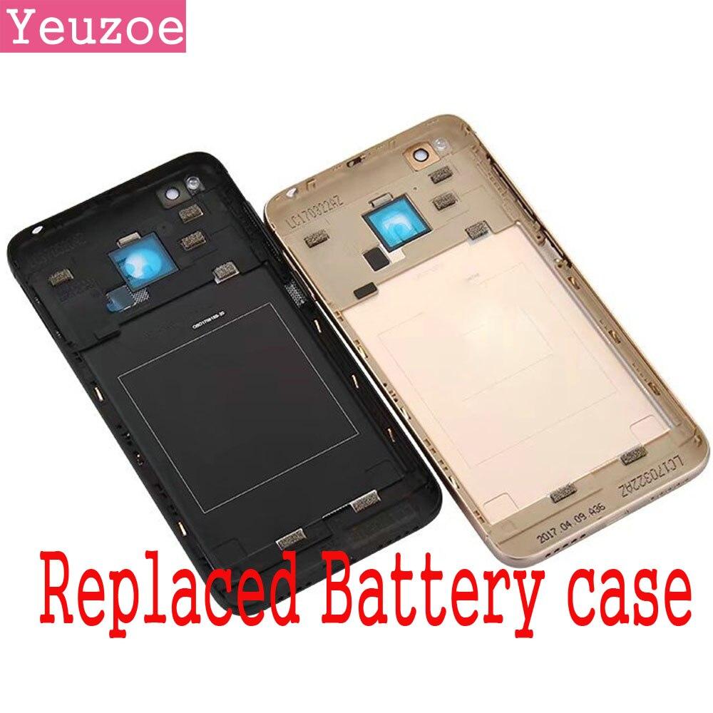 Originale Alloggiamento del telefono mobile per Xiaomi Redmi caso 4X Parti di Ricambio Copertura posteriore del metallo della Batteria per xiomi Redmi 4x con il lato pulsanti
