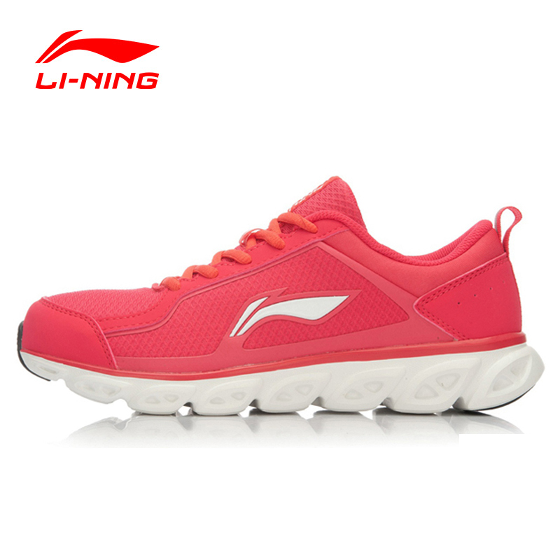Li-Ning Running Shoes Air Mesh Breathable Cushioning Li-Ning Arch Techonology Sneakers Sport Shoes Women Li-Ning ARHK064 XYP248