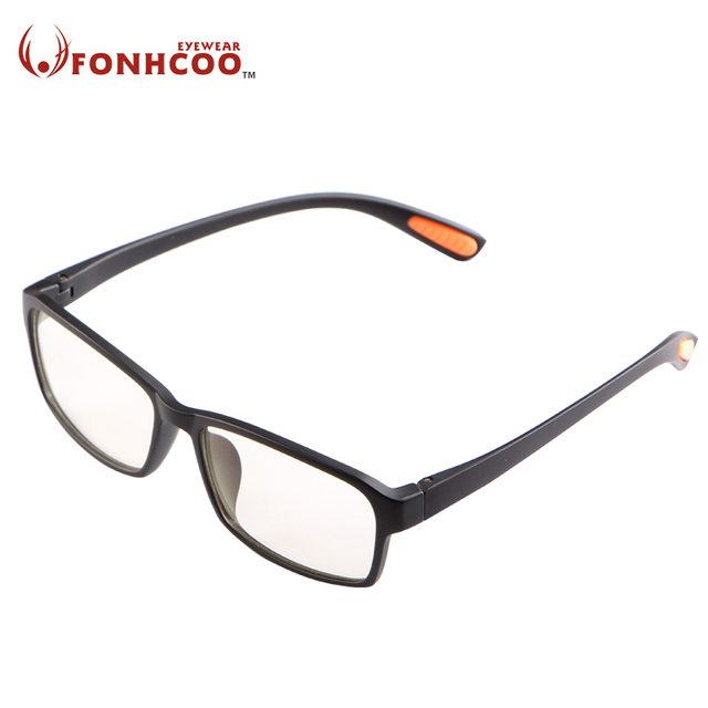 Fonhcoo Tr Frame Glasses Frame Men Women Myopia Eyeglasses Spectacle