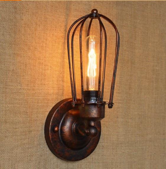 Iwhd RH ретро Edison Винтаж бра для дома Освещение промышленных свет лестницы lamparas де сравнению