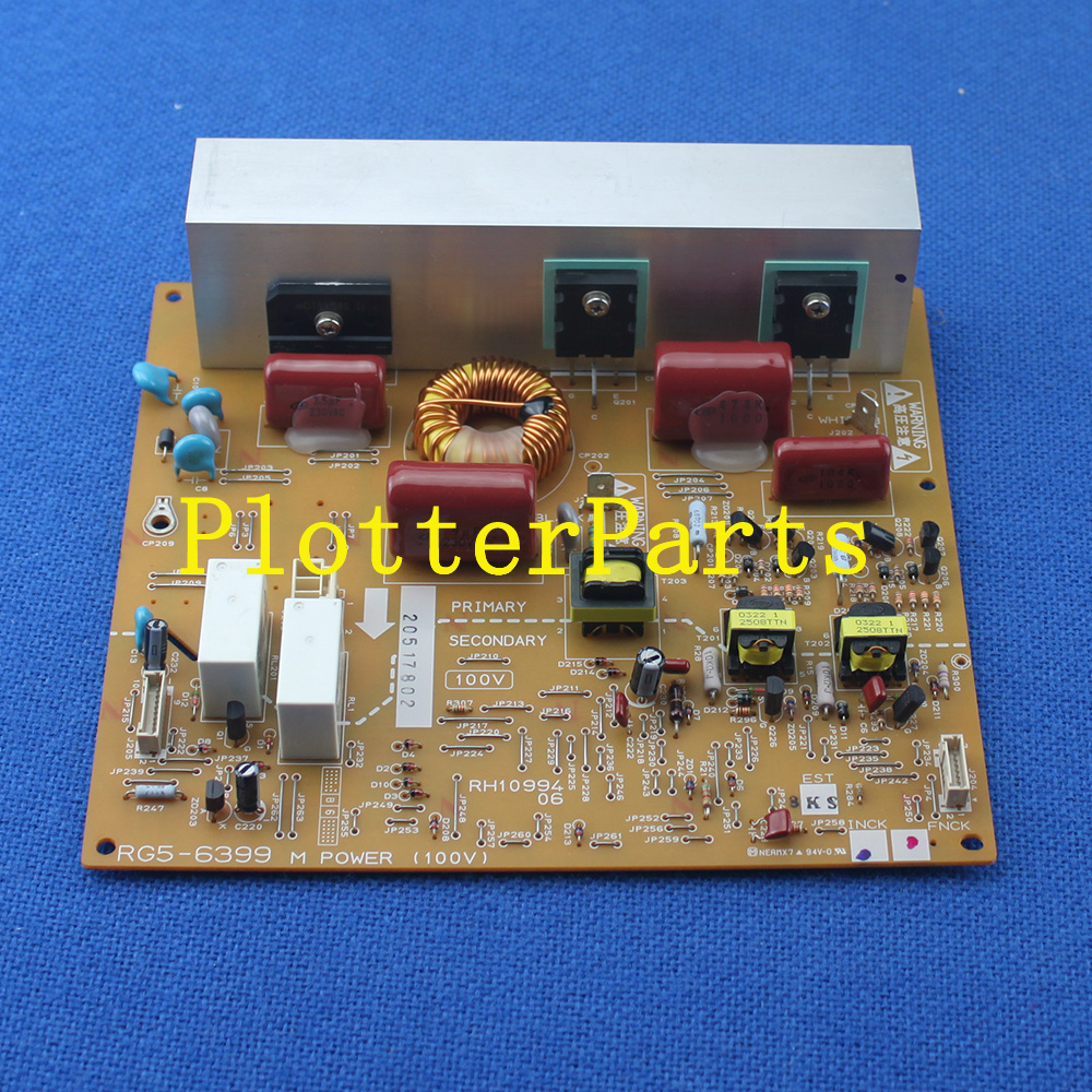RG5-6399-030CN Fuser power supply PC Board for HP Color LaserJet 4600 4650 printer parts Used galaxy ud 181la 181lc 2112la 2512la printer power supply board printer parts