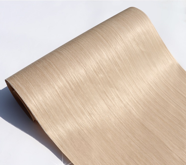 2Piece/Lot   L:2.5meters Width:55cm Technology Oak Wood Veneer 007S(back Non Woven Fabric)