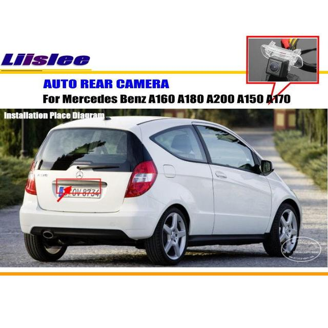 Liislee Car Rear Camera For Mercedes Benz A160 A180 A200 A150 A170 ...