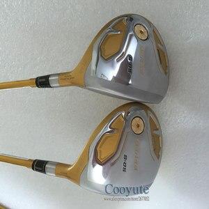 Image 3 - 新ゴルフクラブ本間 S 05 4 スターゴルフフェアウェイウッドグラファイトシャフト r または s フレックスゴルフ木材をヘッドカバー cooyute 送料無料