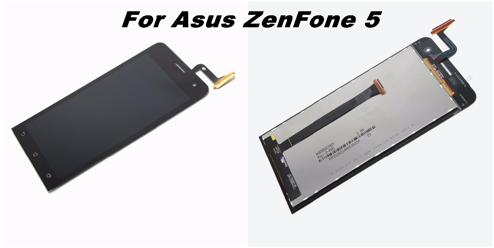 For Asus ZenFone A500CG A500KL A501CG LCD Display Panel Screen + Digitizer Touch Screen Glass Assembly with Frame Replacement lcd screen display touch panel digitizer with frame for htc one m9 black or silver or gold free shipping