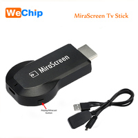 Hot MiraScreen OTA Tv Stick Wireless Dongle Ricevitore Airmirroring Anycast Wi-Fi Display Airplay HDMI Miracast Google Chromecast