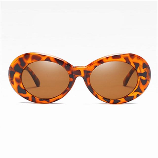 Clout Brille Retro Sonnenbrille Frauen Rot Rosa Vintage Runde Sexy Sonnenbrille Kurt Cobain UV400 Brillen Goggles