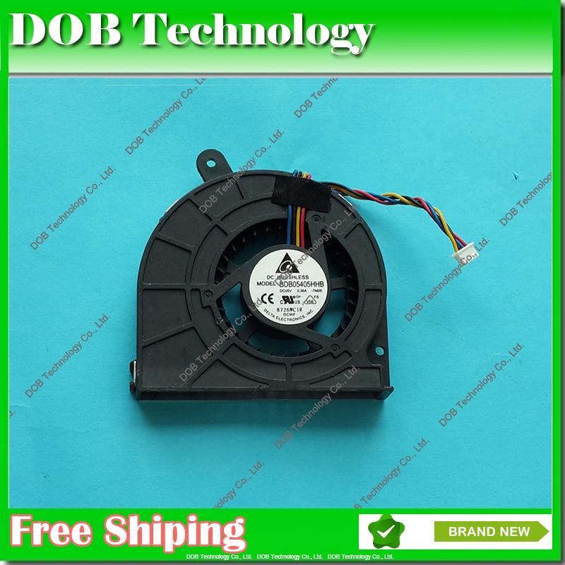 Бесплатная доставка, охладитель ЦП для ноутбука EEE EB EEEBO EB1501 EB1502 B202 BDB05405HHB 9E2S DC05V 0.40A