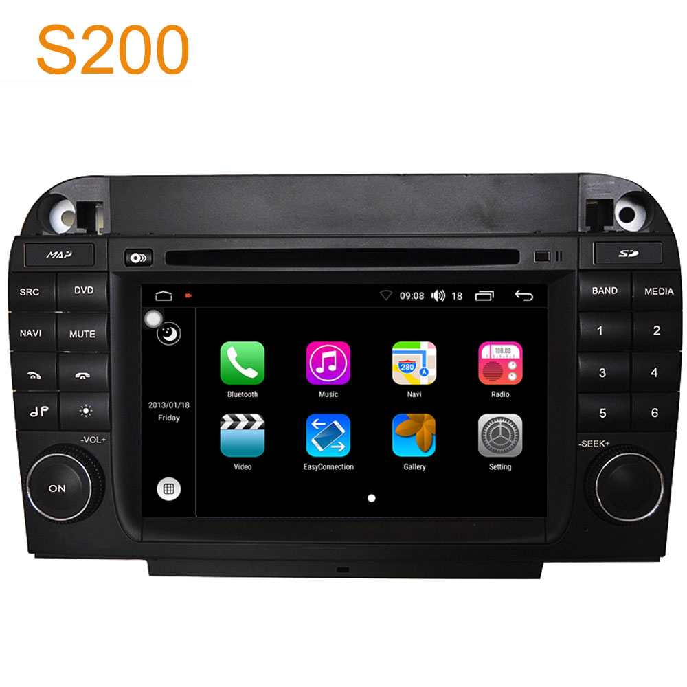 winca s200 android 8 0 px5 octa 8 core cpu car dvd radio. Black Bedroom Furniture Sets. Home Design Ideas