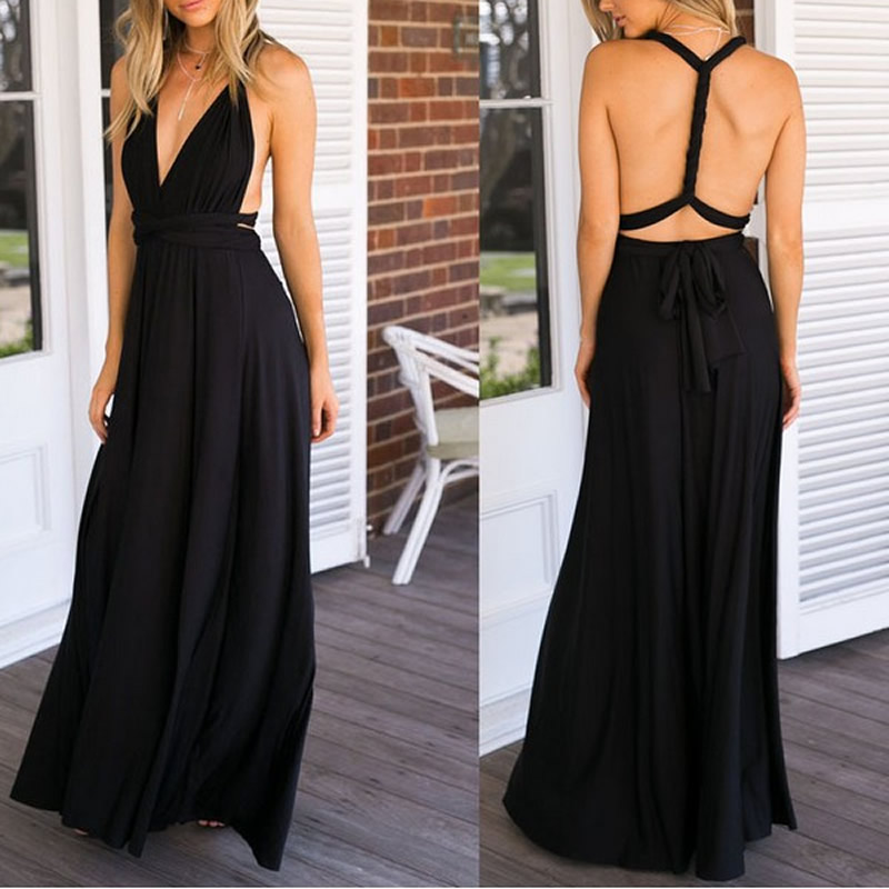 7de4f1c2aa15d convertible wrap bridesmaid dress – Fashion dresses