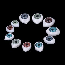 HBB 20Pcs Plastic Doll Safety Eyes For Animal Toy Puppet Making DIY Craft Accessories(China)