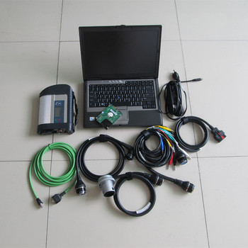 mb star c4 with d630 laptop with hdd 2020.03 newest software multiplexer all cables full set ready to use multi languages