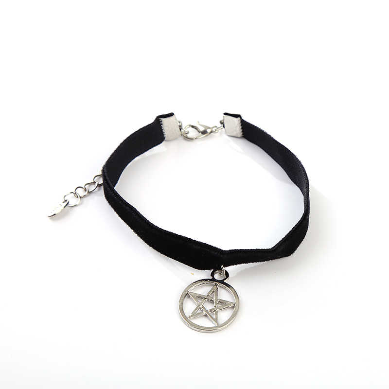 Handmade Black Knit Lace Artificial Pears Hollow Flower Star Starfish Round Ball Couple Jewelry Bracelets for Women Men