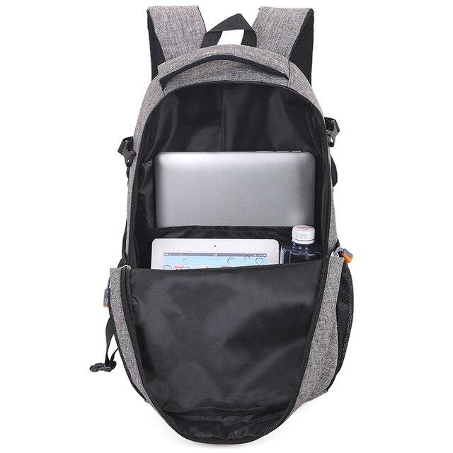Unisex School Bag Waterproof Nylon Brand New Schoolbag Business Men Women Backpack Polyester Bag Shoulder Bags Computer Packsack 4