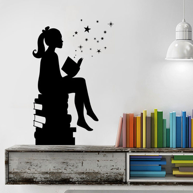 good value quote wall sticker read books quotes