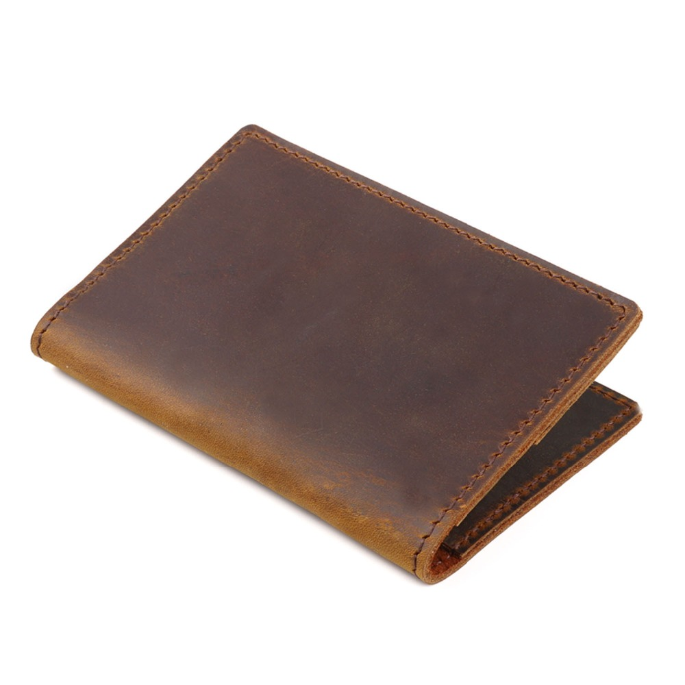 Fashion Bifold Genuine Leather Men Credit Card Wallet Driver License Holder Top Layer Real Cow Leather Men Card Holder Wallet hot sale 2015 harrms famous brand men s leather wallet with credit card holder in dollar price and free shipping