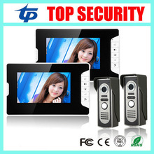 7″ Color Screen Intercom System Video Door Phone Night Vision Doorbell Camera Mounted Door Intercom Monitor Door Access Control
