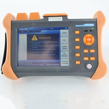 1310/1550nm 28/26dB Built in VFL Touch Screen Optical Time Domain Reflectometer Fiber Optic OTDR 90KM