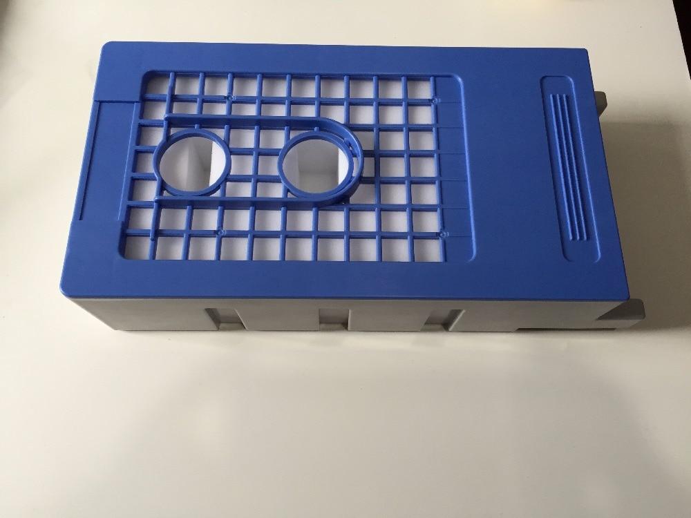 t6711 maintenance tank printer parts Maintenance tank  with chip for Epson T7200 printer maintenance tank